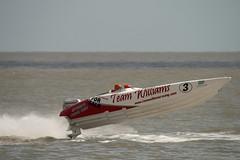Airborne (Kev Gregory (General)) Tags: lowestoft 2009 hf4sa 225hp powerboat racing 25th july coast sea coastal norfolk england grand prix gp kev gregory canon 400d sigma 50500 50 500 zoom lens bigma team williams no 3 offshore
