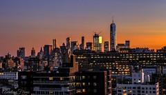 #Sunset #worldtradecenter #wtc #skyline  #newyork #Afterglow (lelobnu) Tags: newyork afterglow sunset worldtradecenter wtc skyline