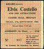 "19840927-Elvis Costello and the Attractions-Ulster Hall-Belfast-27-Sept-1984-ticket-DC Cardwell<br /><span style=""font-size:0.8em;"">They were great, really great, but there was something slightly dissatisfying about this. I recall vividly thinking that Bruce Thomas was way too complicated on the bass. But I would probably love that now. This was the era when bass playing started to become far too unimaginative and I now wish that bass players would do more than just keep the beat.</span> • <a style=""font-size:0.8em;"" href=""http://www.flickr.com/photos/87767114@N03/8157255134/"" target=""_blank"">View on Flickr</a>"