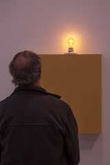 photoset: mumok: Dan Flavin - Lights (14.10.2012 - 3.2.2012)
