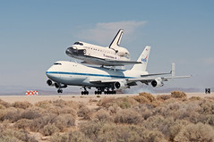boeing 747-123 shuttle carrier aircraft (sca) (MatthewPHX) Tags: california nikon force space sca aircraft air flight center nasa edwardsafb research shuttle boeing airforce edwards spaceshuttle base carrier 747 airforcebase dryden endeavour edwardsairforcebase d90 drydenflightresearchcenter 747100 shuttlecarrieraircraft spaceshuttleendeavour ov105 747123 spottheshuttle nasasocial