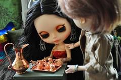 Conversa - 2383 - continua (MUSSE2009) Tags: toys doll mohair blythe custom zade árabe scheherazade