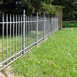 Steinfurth - Zaun um den neuen Friedhof thumbnail