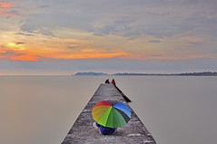 Life is like a rainbow,filled with different colours! (Tuah Roslan) Tags: life sunset color colour sunrise rainbow nikon wide malaysia tamron len pasir sembilan tuah panjang negeri d90 roslan ainst