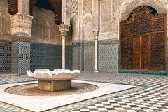 Madrasa Landscape (rowjimmy76) Tags: city travel vacation urban holiday building architecture canon northafrica muslim islam unesco morocco fez maroc 5d fes markii madrasa canonef24105mmf4lisusm