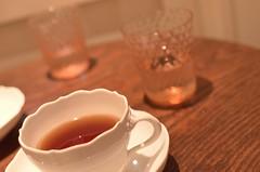 (keiko.com) Tags: pink cup water glass japan table tokyo nikon tea bokeh interior 日本 東京 35mmf18 d7000 gettyimagesjapan12q4