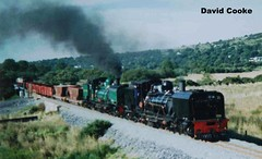 P6942B BP 2-6-2 2-6-2G No.s 138 & 143 @ WHR Bettws Garmon 9.03 (davidncooke_686) Tags: wales train railway steam highland locomotive welsh ng gauge narrow
