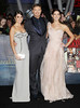 Nikki Reed, Kellan Lutz, Ashley Greene at the premiere of 'The Twilight Saga: Breaking Dawn - Part 2' at Nokia Theatre L.A. Live. Los Angeles, California