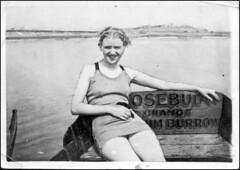 Rosebud (Meremail) Tags: old bw lady boat war rosebud 7daysofshooting blackandwhitewednesday week18rememberwhen