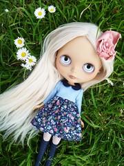 Natalia in the grasses