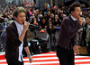 Niall Horan, Louis Tomlinson 'One Direction' performing live on the 'Today' show in New York City New York, USA