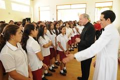 Noviembre, 08: Visita del Cardenal Juan Luis Cipriani