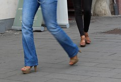 Footwear of Cluj-Napoca, Jud. Cluj, Romania (Wayne W G) Tags: street streets fashion shoe shoes europe candid streetphotography jeans footwear romania denim easterneurope cluj clujnapoca shoesboots geo:country=romania