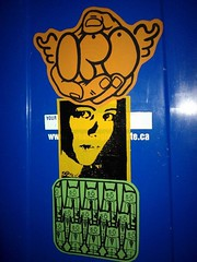 3 colour combo (andres musta) Tags: art sticker stickerart combo