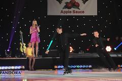 Liza Kulik, Todd Eldredge and Paul Wylie with Jewel