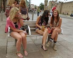 Sexy candid teen feet europeans