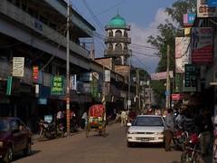 Srimongal mosque (Rik de Goede) Tags: mosque srimongal
