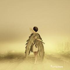 I'm on my way (wtfdcphoto) Tags: woman freedom wings free future fotosondag iminfantasi fs121118
