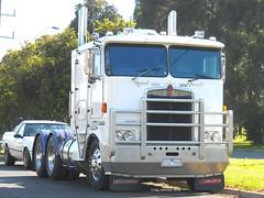 photo by secret squirrel (secret squirrel6) Tags: trucks coe bobtail kw kenworth cabover bullbar leongatha bogiedrive secretsquirrel6truckphotos
