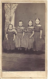 Four Little Sisters - CDV