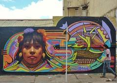 Embera (El Decertor) Tags: street art peru colombia bogota embera chapinero dct decertor