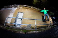 Sergi Landing tricks (EsteveSegura) Tags: punk skating spots nicolas sergi segura esteve streetboard