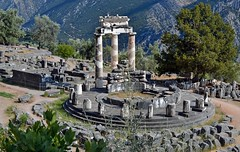 The Tholos temple, Sanctuary of Athena Pronaia, Delphi, Greece (Peony71) Tags: delphi thegalaxy    ringexcellence dblringexcellence tplringexcellence eltringexcellence rememberthatmomentlevel1 rememberthatmomentlevel2 rememberthatmomentlevel3