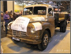 Austin Lorry  (Used in The Great Train Robbery) (Alan B Thompson) Tags: classiccar picasa olympus 2012 nec ronniebiggs sp590uz