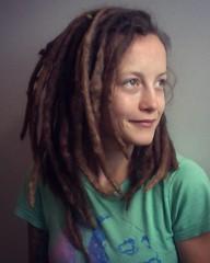 Photo on 11-23-12 at 12.03 PM #4 (sublowe) Tags: cute girl beautiful beauty dreadlocks hoop natural hydro hippie dread brunette marijuana dreads hemp hydroponics dready ganja dreadhead dreadies headwarmer girlwithdreads dreadband dreadwrap