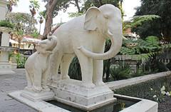 Elephants in the Garden of Dreams (rustyproof) Tags: family nepal sculpture elephant garden dreams greenery kathmandu kaiser rana swapna bagaicha sumsher स्वप्न बगैंचा
