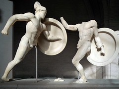Prium (?) and Greek, East Pediment