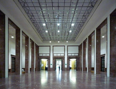 Haus der Kunst, great hall from back