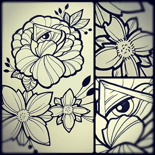 Diseno Ojo Y Flores Design Diseno Eyemason Masones Ojo Ta2