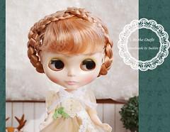 Mori Girl Dress set fot Blythe