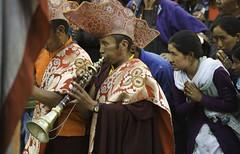 Korzok Ladakh.Jammu kashmir.India (courregesg) Tags: people music india religion monk kashmir himalaya ladakh gens jammu prest priere boudhisme korzok