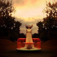 never play with fire (brookeshaden) Tags: storm playground scotland wind harrypotter eerie symmetry fineartphotography darkart creaking conceptualphotography brookeshaden