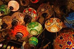 Turkish Lights (enitharmon5) Tags: colour glass lamp digital dubai moroccon unitedemirates