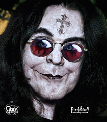 HAPPY 65TH B-DAY! (The PIX-JOCKEY (visual fantasist)) Tags: portrait music art look rock photoshop painting sketch scary joke emo fake humour singer vip horror photomontage caricature draw heavy ozzyosbourne fotomontaggi robertorizzato pixjockey