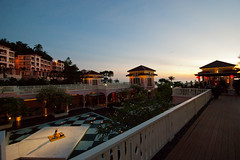 Hotel Centara Grand, Karon Beach (rosana632002) Tags: sunset thailand karonbeach centaragrand