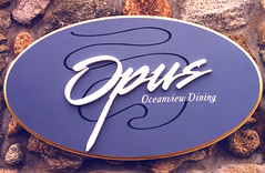 Exterior Dimensional Carved Commercial Signage