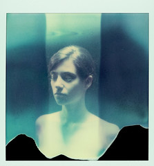# (philippe bourgoin) Tags: marion expired schwammerl polaroid600se fourlines pxpush theimpossibleproject linvisible integralback