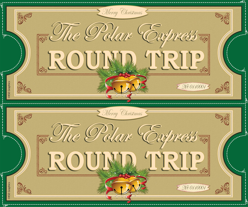 graphic about Polar Express Train Ticket Printable titled Xmas Prepare Tickets -