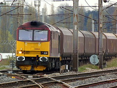 Tug of the Week (Jim the Joker) Tags: train warrington railway brush coal freight dbs ews class60 60065 dbschenker type5 spiritofjaguar