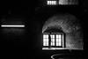 One lucky moment / an angel sent (Özgür Gürgey) Tags: shadow bw texture silhouette architecture 35mm germany lowlight nikon candid bricks hamburg shade luck d750 michel darkcity 2016 samyang