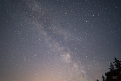 Milky Way over Mill Bay
