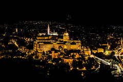 A Nightly Panorama of Buda (mikebakker2) Tags: budapest   magyarorszg ungarn hungary hungra ungheria  city   night nightphotography panorama panoramic view views longexposure light lights architecture composition castle schloss burg palace church cathedral yellow white color colors colorful colour colours colourful urban exploration urbanexploration travel traveling traveler world europe europa   eurpa