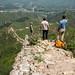 Lado oeste da Grande Muralha da China