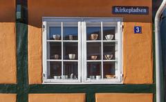 Bornholm's Window... (Rainer Fritz) Tags: bornolmerfarben fenster fachwerk gelb svaneke bornholm window yellow halftimbered