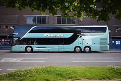 The Maccabees Y Plas Cardiff Students Union 2016 (5asideHero) Tags: the maccabees 2016 phoenix bussing setra s431 dt band transport sleeper coach double decker tour bus n55 pbs