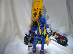 Maari 4 (quartzroolz) Tags: bionicle agori quartz roolz bike biker bikerbabe system mixel island rpg mocpages